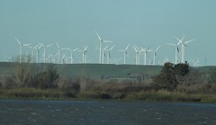 prairie, windmill, plain, wind, wind farm, wind turbine,