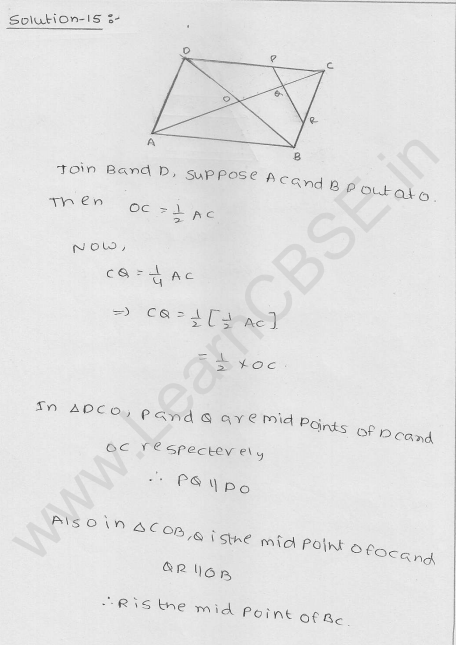 RD Sharma Class 9 Solutions Chapter 14 Quadrilaterals Ex 14.4 16