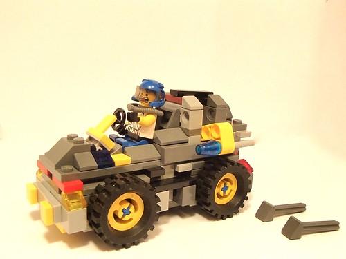 Classic Space Lunar Rover