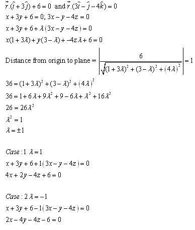 RD Sharma Class 12 Solutions Chapter 29 The Plane 29.7 Q10