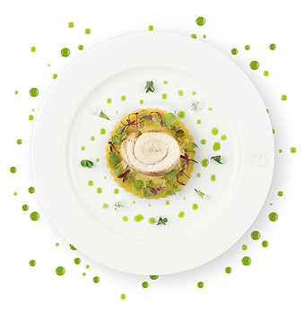 Air France Menu La Premiere chef Anne-Sophie Pic (Air France)