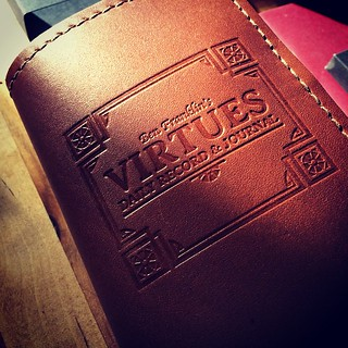 I am most excited about the @artofmanliness Virtue journal.