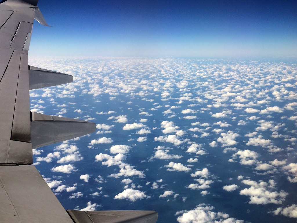 Little Fluffy Clouds Over the Gulf of Mexico