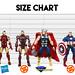 Sen-Ti-Nel Armorize Iron Man Size Chart by advocatepinoy