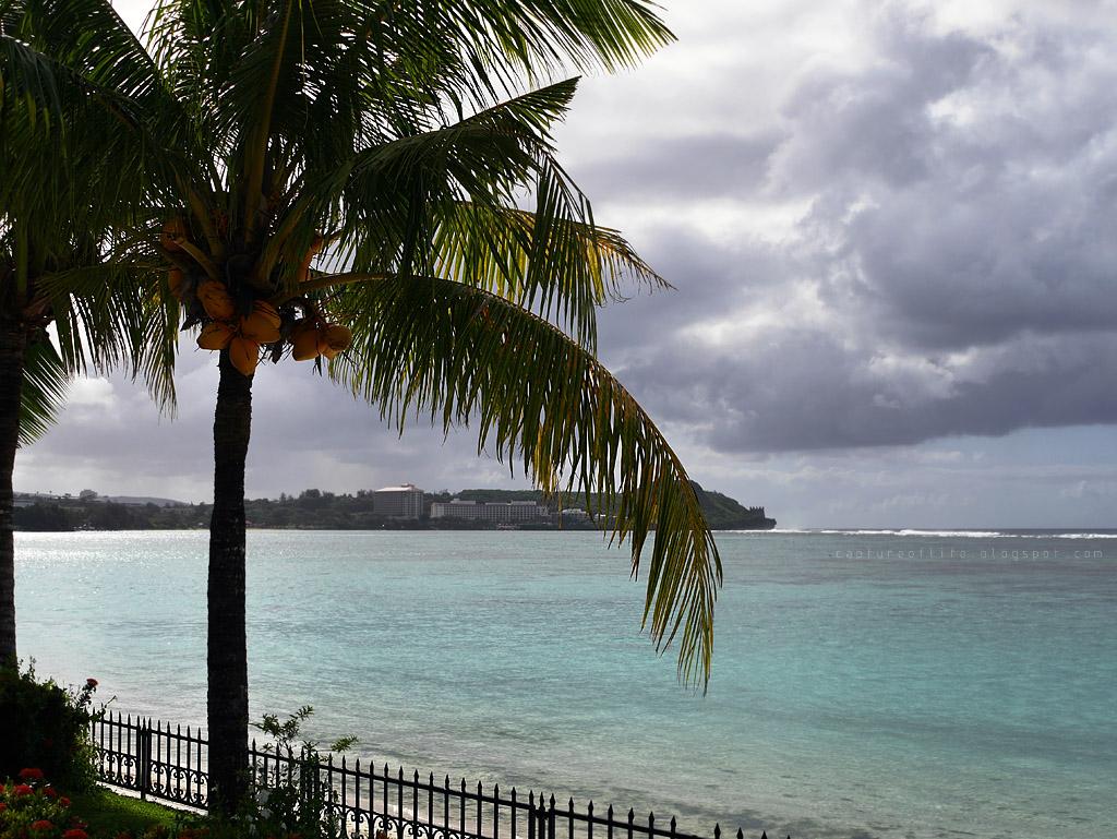 Trip to Guam-- the beach