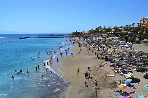 Del Duque, July, Costa Adeje, Tenerife