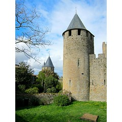 Real life fairy tale castle #carcassone...