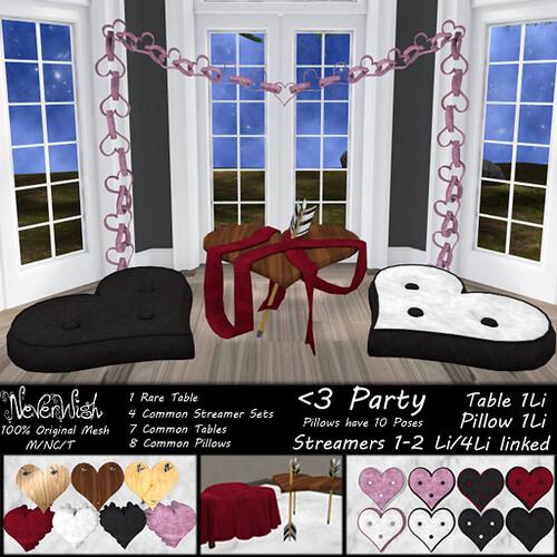 <3 Party set