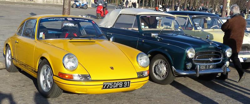 Porsche 911 et Peugeot 403 Colombo 16305051511_884da529de_c