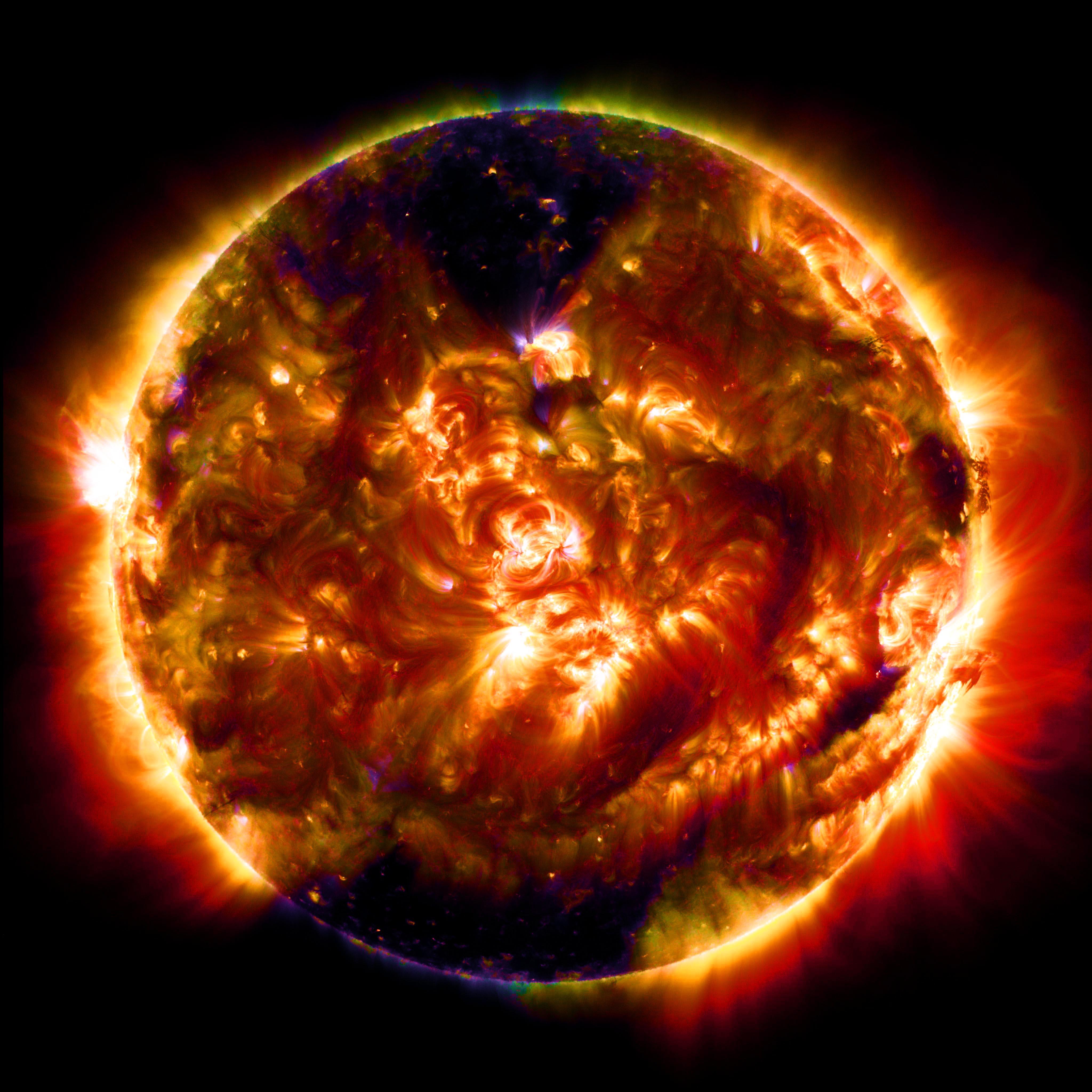 NASA  Fiery Looping Rain on the Sun  YouTube