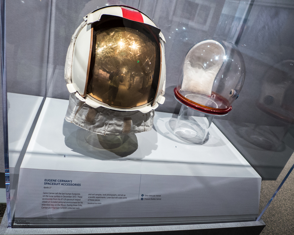 Gene Cernan's Moonwalk Helmet