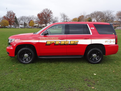 Fire Rescue SUV Graphics