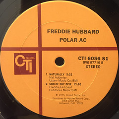 FREDDIE HUBBARD:POLAR AC(LABEL SIDE-B)