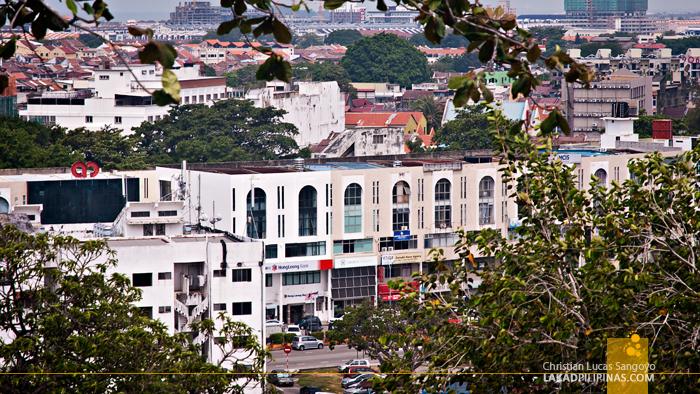 View from Bukit Cina
