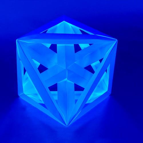 Origami Di-excavated octahedron (Dirk Eisner)