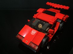 Chibi-Swipe Vehicle Mode w/ minifig