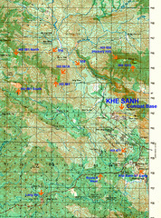6342 3 Map Of Khe Sanh Area Map Of Khe Sanh Area Hill 861 Flickr