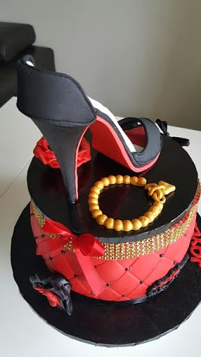 Louboutin Cake from Alexandra Sugar by Sugar Passion