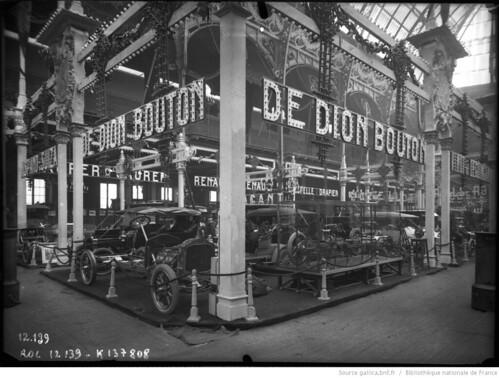 1910-12. XII Парижский салон. Salon de l'Auto
