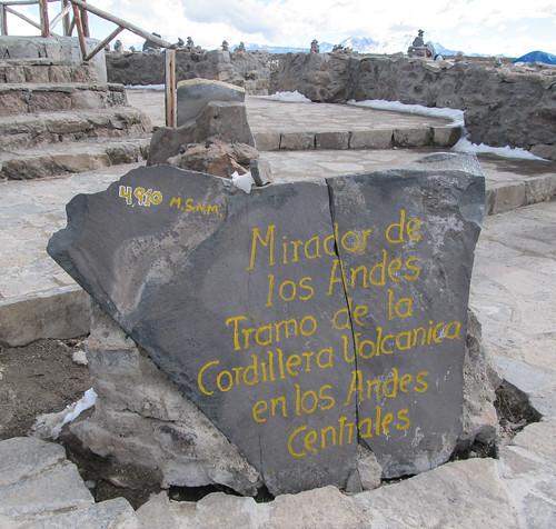 Alentours du Cañon de Colca: le point le plus haut de notre périple, 4910m, 4910m