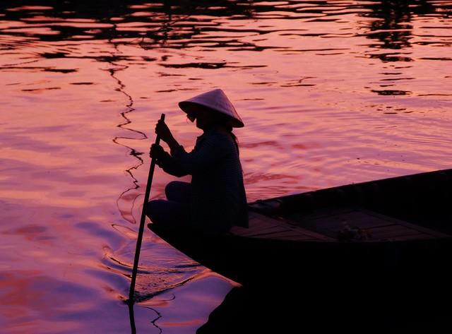 Atardecer en Hoi An (Vietnam)