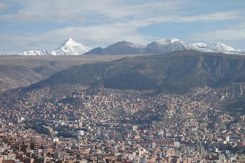 ラパスの街