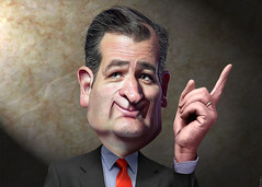 Ted Cruz - Caricature