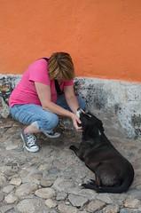 Deb & her pup ...