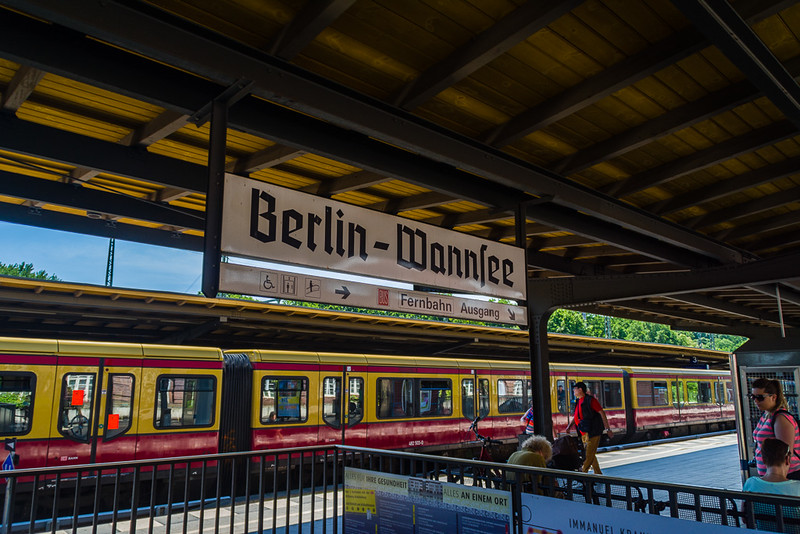 Estación de metro a Potsdam