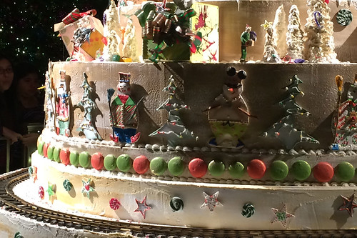 Christmas in the City - St. Francis Hotel cake