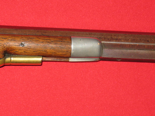 Washington Hatfield Rifle - Made in Owensburg, Indiana - Nosecap