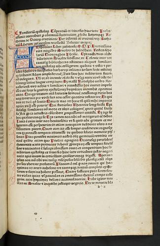 Incipit title in Liber, Antonius: Familiarium epistolarum compendium ex diversis auctoribus collectum