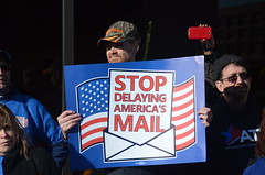 AFGE Participates in Postal Workers' National Day of Action