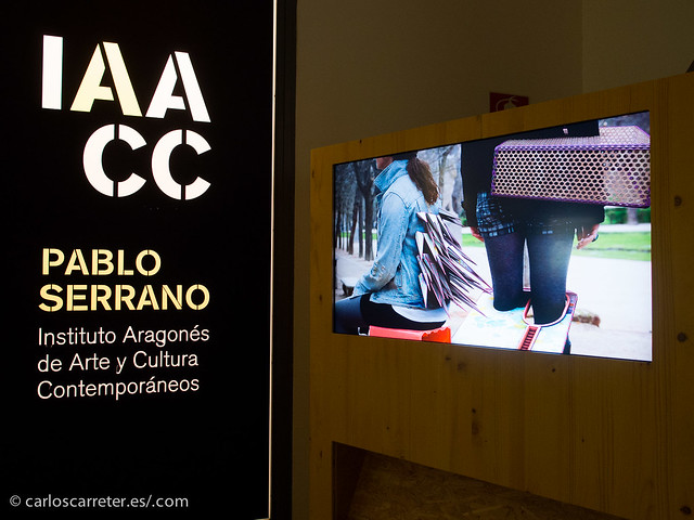 Raul Ursúa en el IAACC Pablo Serrano