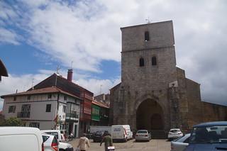 436 Plein bij kerk Plentzia