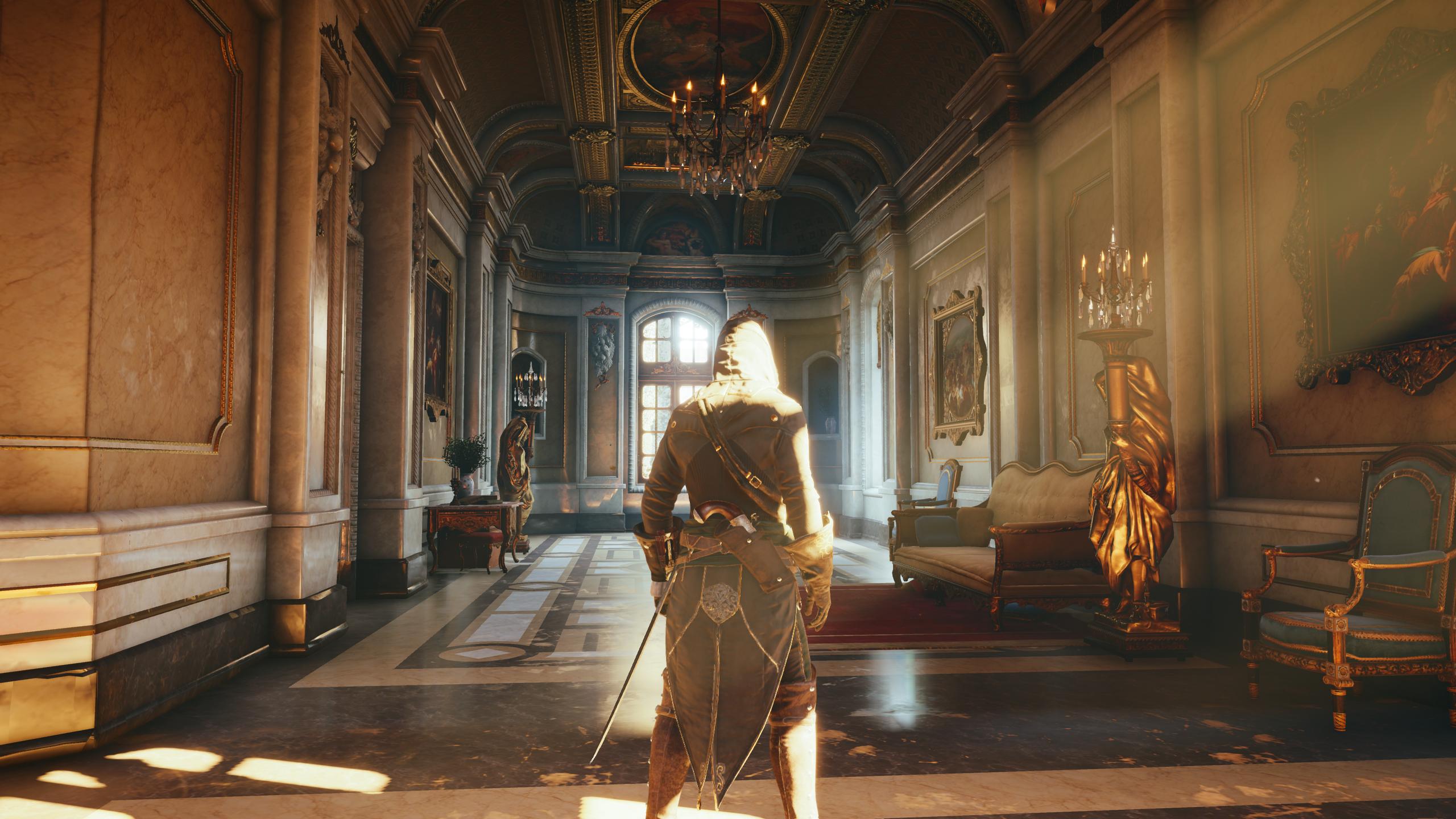 assassinss creed unitys virtual recreation of notre - HD2560×1440