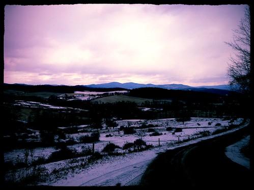 road trees winter sky snow ny mountains tree fence hills rensselaercounty northhoosick westhoosickhills
