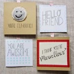 calligraphy card ideas