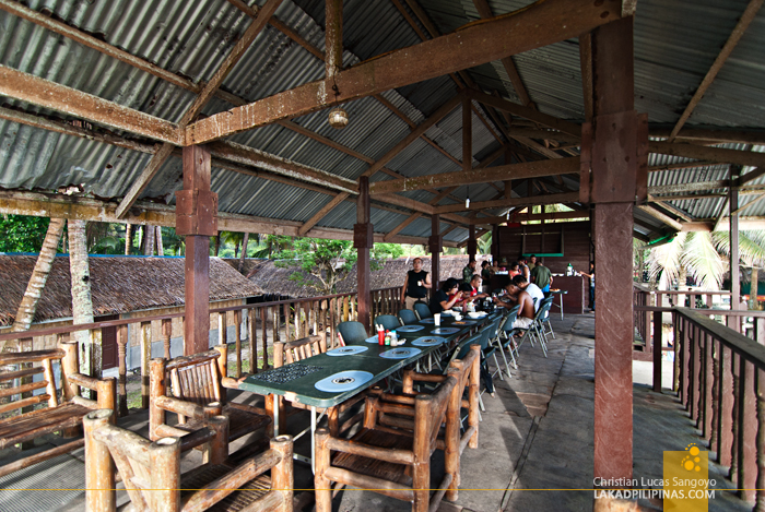 Mess Hall of the MBLT6 Marine Camp in Patikul, Sulu
