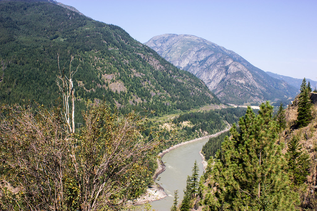 Jackass Mountain Lytton British Columbia