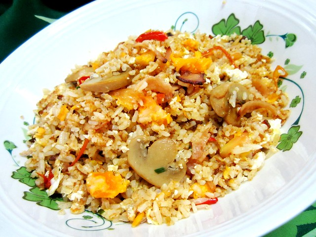 STP's salted egg & bacon fried rice 2