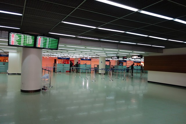 Don Mueang International Airport Immigration is empty!