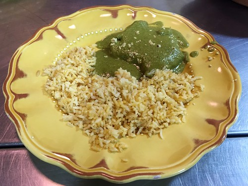 Finished mole verde