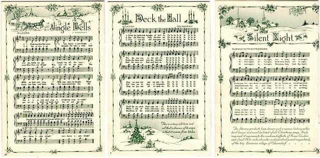 Framed Printable Christmas Sheet Music More Ways To Use