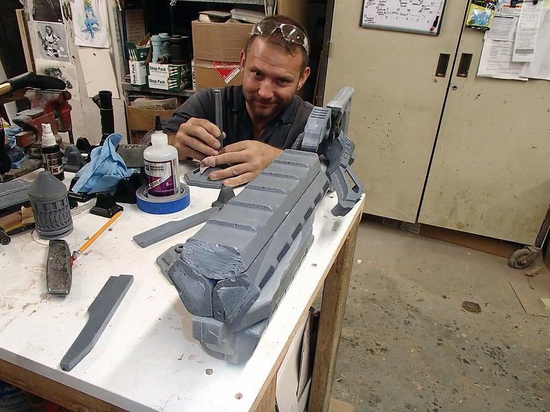 Lightning Gun Assembly Progress 37