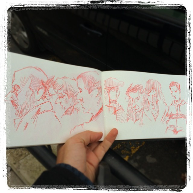 #urbansketch #kurutoga #uni #pencil #train