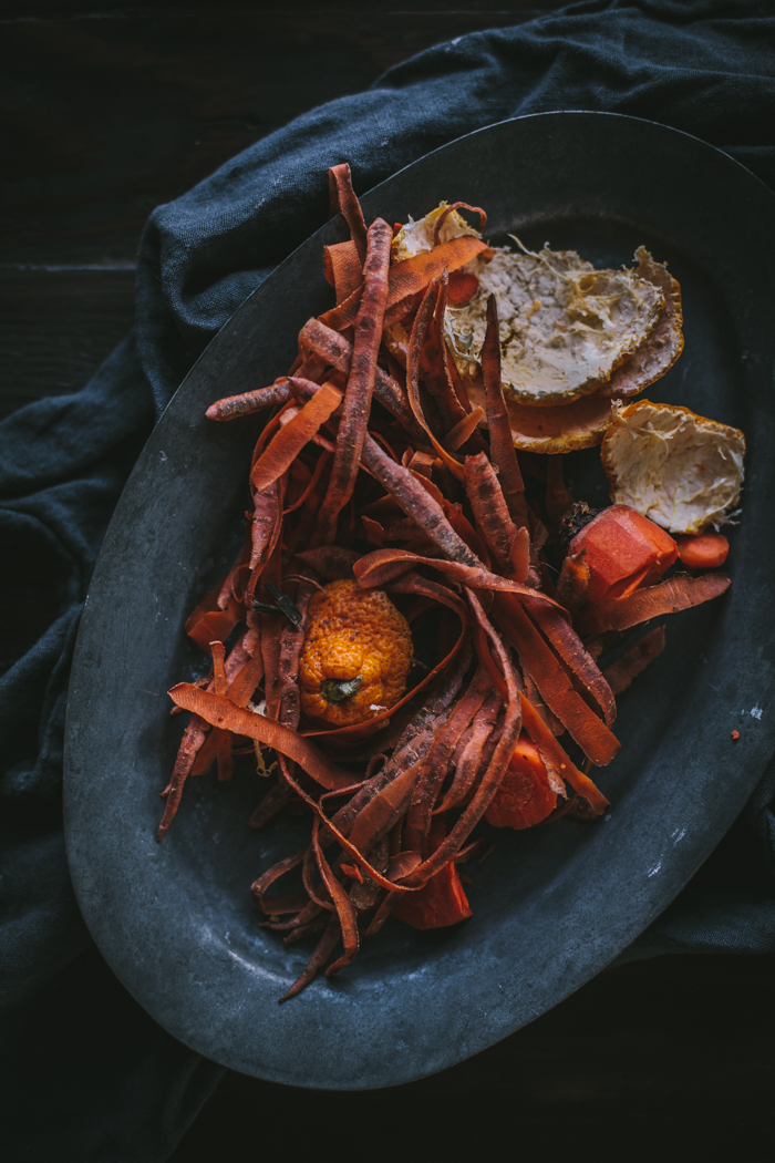 Carrot Citrus Cupcakes + A Hanging Basket Giveaway by Eva Kosmas Flores | Adventures in Cooking