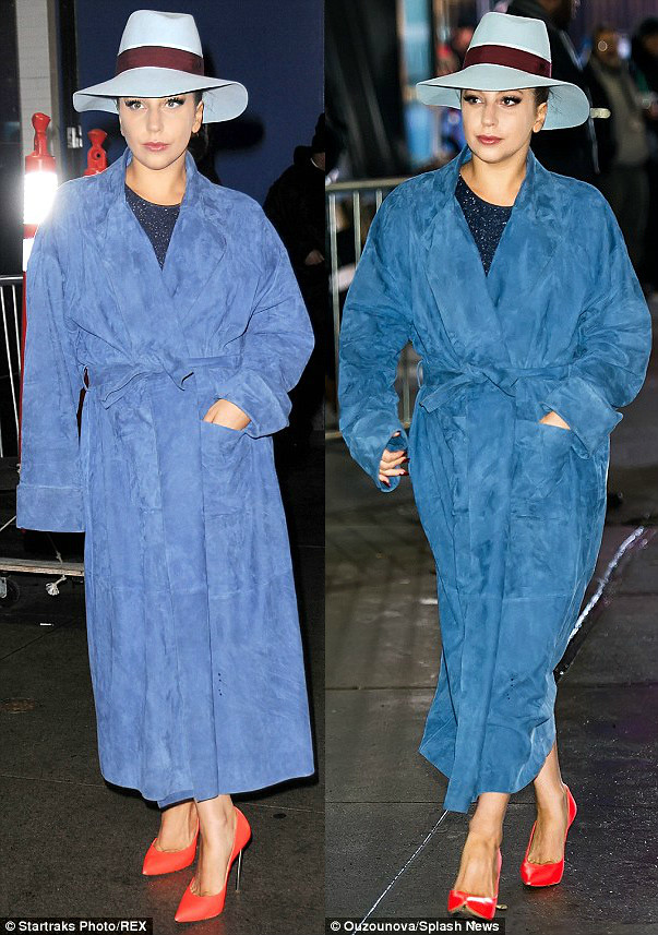 blue-bathrobe-coat-trend,blue suede robe coat, blue suede bathrobe coat, dressing gown style coat, beige trench coat