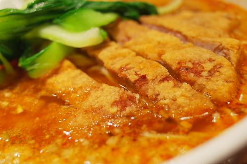 Pork ribs Dandan noodles