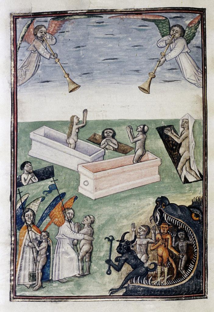 Demons From The Livre de la vigne nostre Seigneur, 1450 - 70 (22)